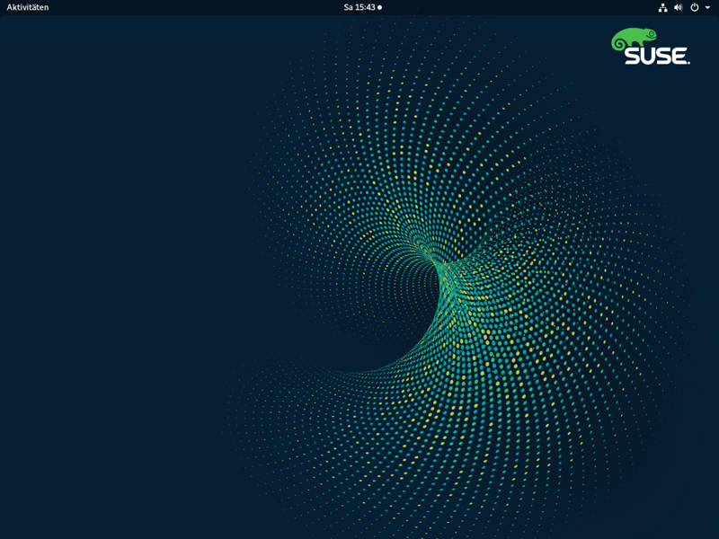 SUSE Linux Enteprise 15 Screenshot