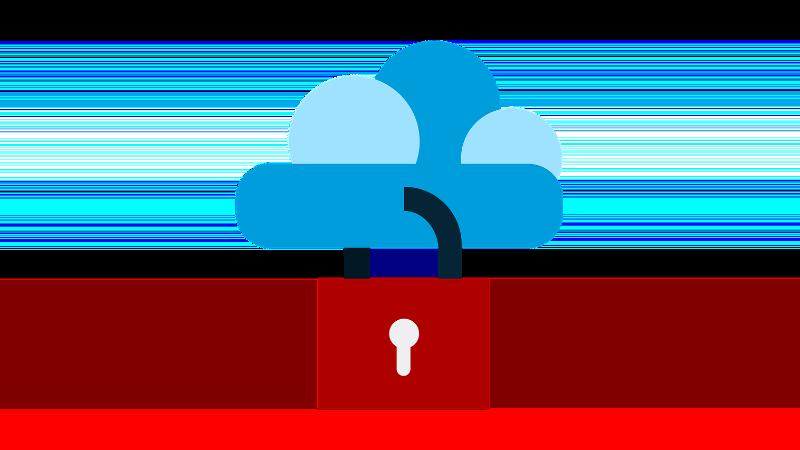 """Symbolbild """"Cloud Verschlüsselung"""""""