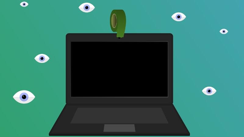 """Symbolbild """"Laptop Überwachung"""""""