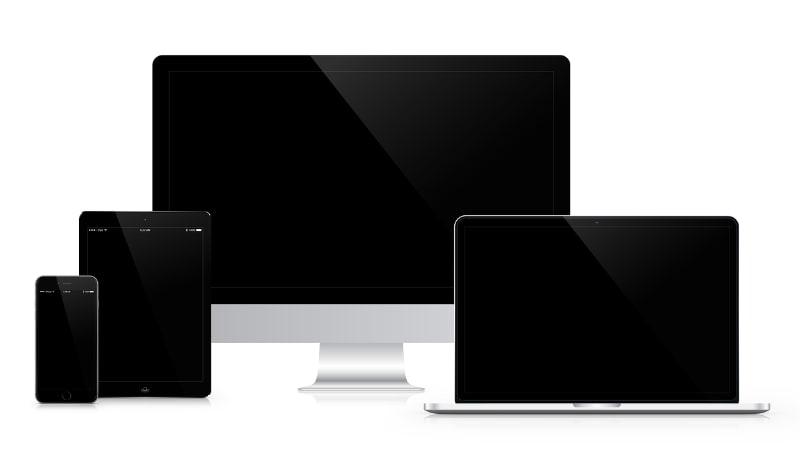 """Symbolbild """"Apple Geräte"""""""