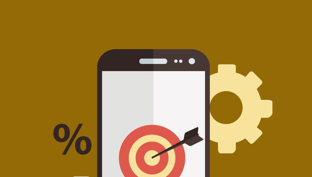 Smartphone Dartpfeil